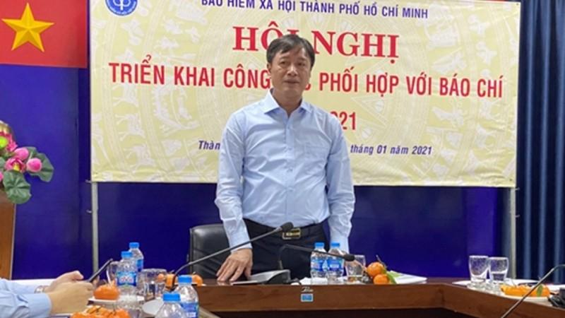 Ông Phan Văn Mến phát biểu tại Hội nghị.