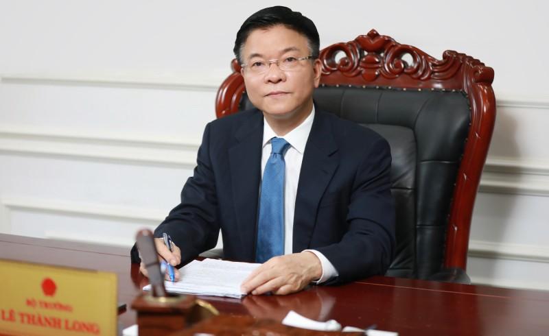 Thư của Bộ trưởng Lê Thành Long gửi CBCCVC, người lao động ngành Tư pháp nhân dịp Tết cổ truyền Tân Sửu