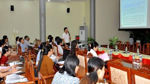 Cục Thuế Bình Định tổ chức tập huấn chính sách thuế cho doanh nghiệp.
