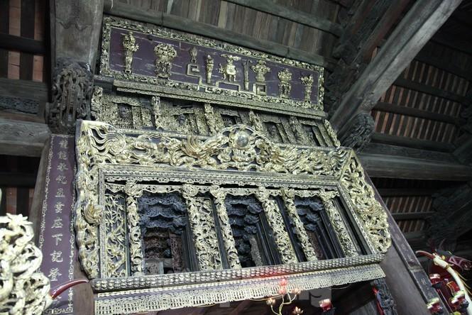 Độc đáo bảo vật quốc gia Cửa võng tại đình làng Thổ Hà ở Bắc Giang - ảnh 2