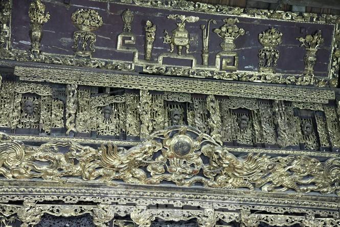 Độc đáo bảo vật quốc gia Cửa võng tại đình làng Thổ Hà ở Bắc Giang - ảnh 4