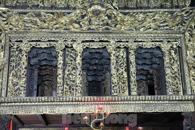 Độc đáo bảo vật quốc gia Cửa võng tại đình làng Thổ Hà ở Bắc Giang - ảnh 5