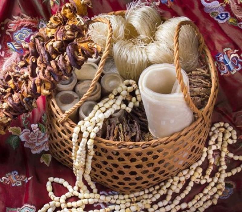 Giỏ quà Tết nông sản ngày càng được người tiêu dùng lựa chọn.
