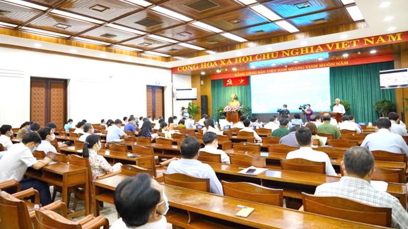 Hội nghị tổng kết các hoạt động đã triển khai trong dịp Tết Tân Sửu của TP HCM.