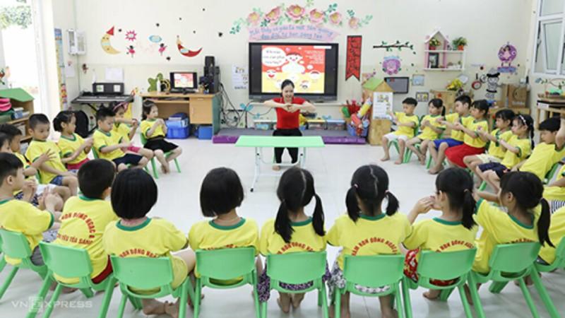 Tiêu chuẩn bổ nhiệm, xếp lương giáo viên mầm non