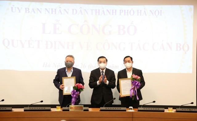 Chủ tịch Hà Nội bổ nhiệm 4 Giám đốc Sở và Chánh Văn phòng UBND thành phố - 2