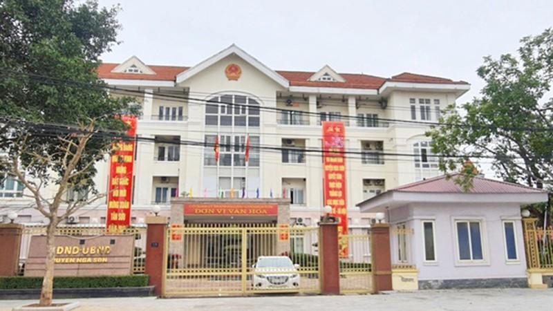 Sai phạm tại UBND huyện Nga Sơn (Thanh Hóa): 31 cá nhân phải kiểm điểm trách nhiệm
