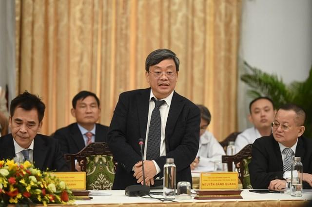 Ông Nguyễn Đăng Quang cho rằng Việt Nam cần nâng cao năng lực cạnh tranh, định hướng tiêu dùng để tạo động lực cho phát triển.