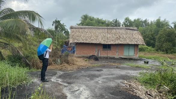 Một góc khu đất thuộc dự án của Công ty bất động sản Minh Thành Đồng Nai bị cơ quan điều tra ngăn chặn chuyển dịch - Ảnh: B.S