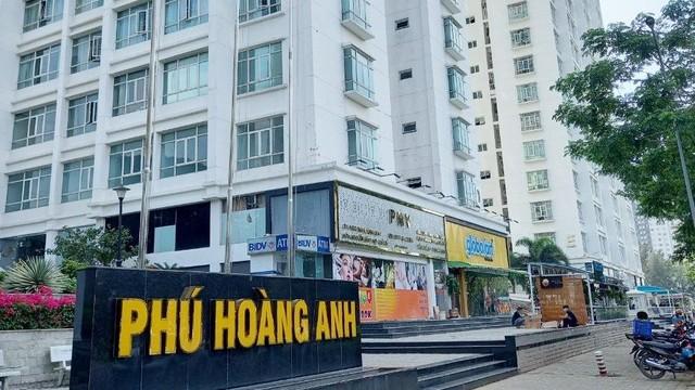 Chung cư Phú Hoàng Anh. (Hình: Đại Việt/dantri.com.vn)