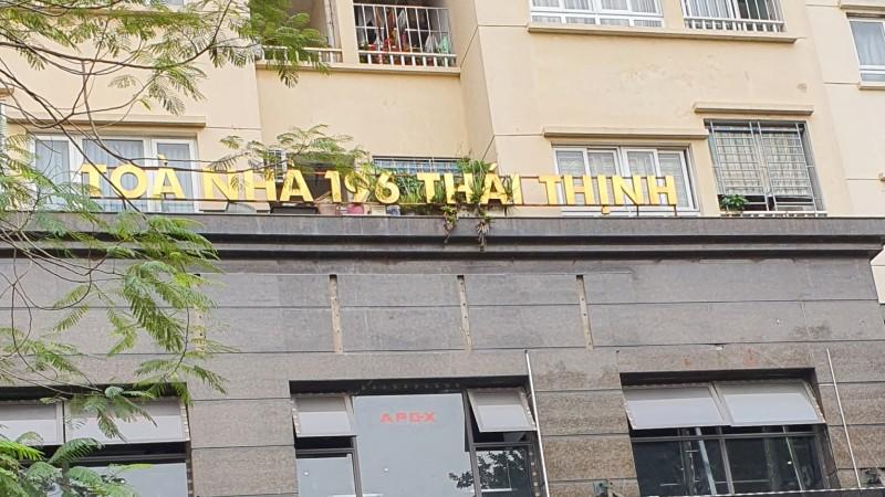 """Sai phạm tại tòa nhà 196 Thái Thịnh: Các kiến nghị UBND quận Đống Đa có rơi vào """"im lặng""""?"""