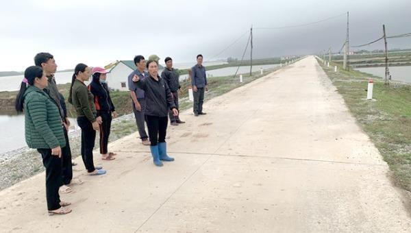 Dự án đã thực hiện xong, huyện Kim Sơn mới đưa ra phương án đền bù, hỗ trợ mới.