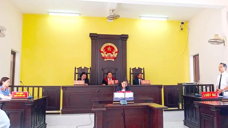 Phiên tòa hành chính của TAND thành phố Rạch Giá, Kiên Giang.  (Ảnh minh họa)