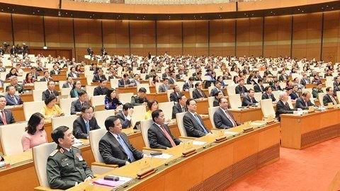 Kỳ họp thứ 11, Quốc hội khóa XIV