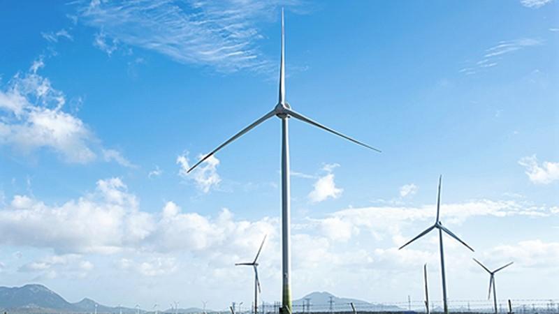 Đầu tư dự án điện gió gian nan hơn dự án điện mặt trời. (Ảnh minh họa)