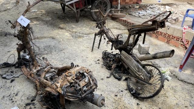 Sáu người tử vong trong vụ cháy nhà tại TP HCM: Vì chiếc xe máy chập điện tự bốc cháy?