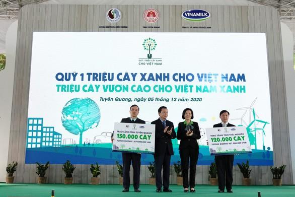 Quỹ 1 triệu cây xanh chính thức chạm đích với 1.121.000 cây xanh - Ảnh 3.