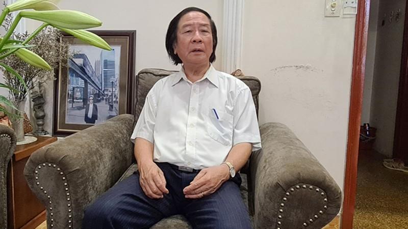 Chuyên gia giao thông,  TS. Nguyễn Xuân Thủy.