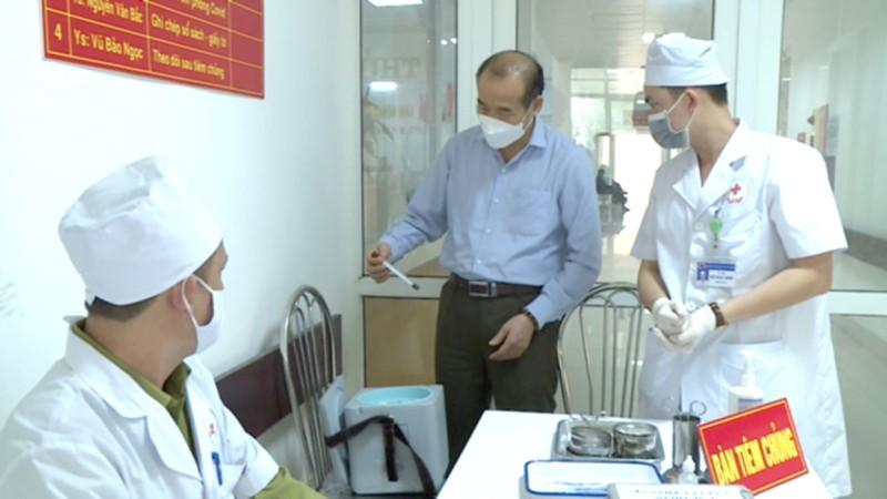 Thái Nguyên chuẩn bị cho chiến dịch tiêm vắc xin phòng Covid-19