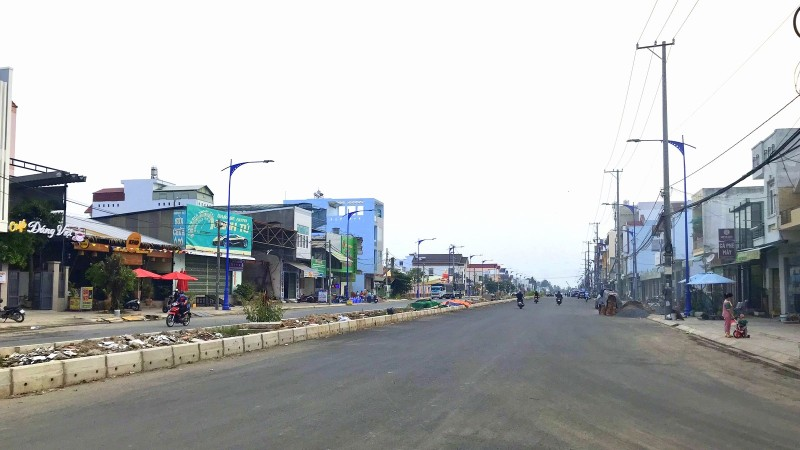 Công trình đường nối Cách mạng Tháng Tám (CMT8) đến đường tỉnh 918 (quận Bình Thủy, TP Cần Thơ).