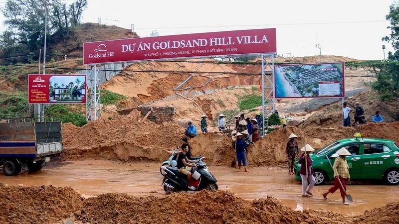 Sau hàng loạt trận lở đất tại Bình Thuận: Tổng kiểm tra các dự án cấp phép trên đồi núi