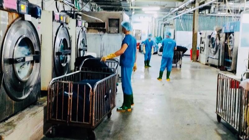 Công ty CP Dịch vụ Môi trường Mesco nói gì về hoạt động của xưởng giặt là đồ vải y tế?