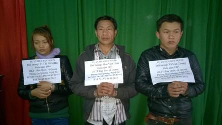 Giải cứu nạn nhân, bắt ba đối tượng buôn bán người