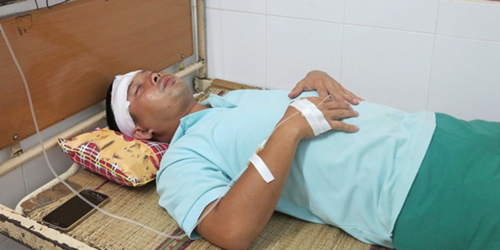 Vô cớ bị đánh nhập viện khi gom tử thi tai nạn đường sắt