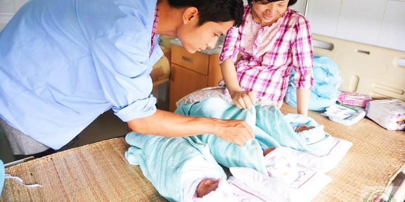 Hy hữu ca sinh 3 cùng trứng ở Nghệ An