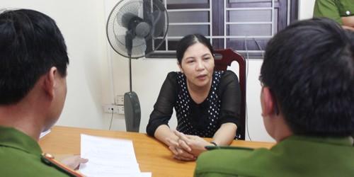 Bắt nữ doanh nhân tẩu tán tài liệu có dấu hiệu trốn thuế