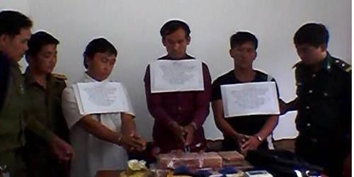 Phá đường dây vận chuyển ma túy từ Lào về Việt Nam