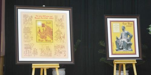 Phát hành bộ tem về chân dung Đại thi hào Nguyễn Du