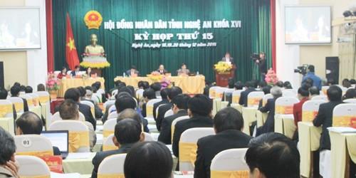 Nghệ An sắp bầu bổ sung một số chức danh lãnh đạo tỉnh
