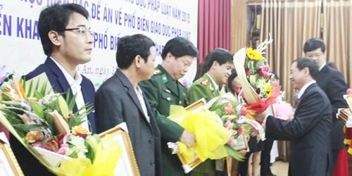 Nghệ An: Tổng kết 5 năm thực hiện các đề án  PBGDPL