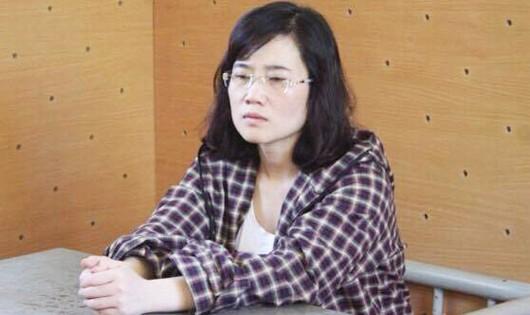 Nguyễn Thị Lam tại CQĐT khai nhận hành vi phạm tội để rút gần 50 tỷ tiền của khách hàng.