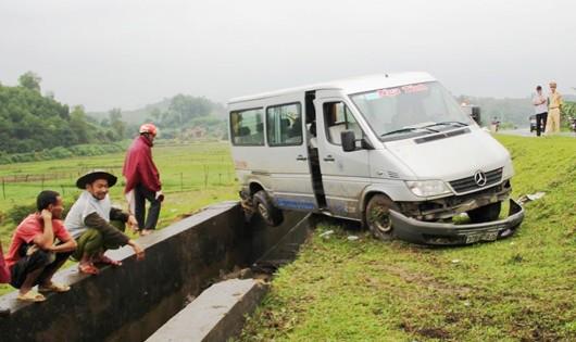 Nghệ An: Một ngày mưa, 5 vụ tai nạn giao thông
