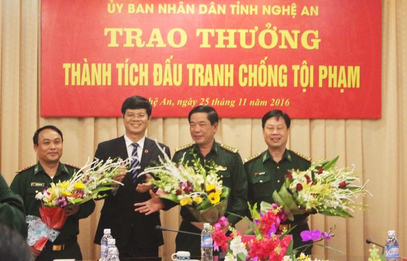 Thưởng 'nóng' lực lượng phá án ma túy 'khủng' ở Nghệ An
