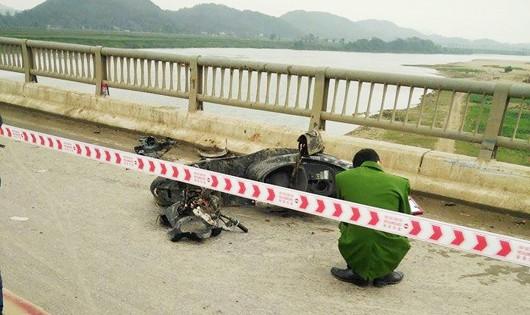 Vụ tai nạn trên cầu Rộ làm 3 người tử vong ngày Mùng 5 Tết Nguyên đán
