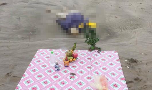 Thi thể được phát hiện trôi dạt trên bờ biển