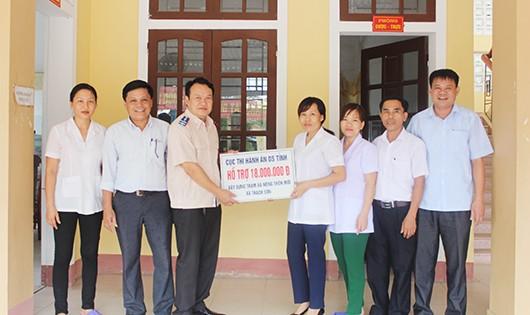 Cục THADS Hà Tĩnh chung tay xây dựng Nông thôn mới