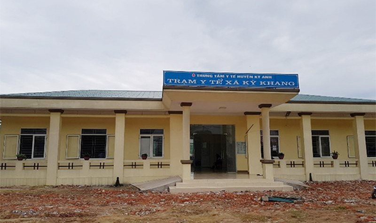 Trạm y tế nơi xảy ra vụ việc (ảnh H. Hiệp)