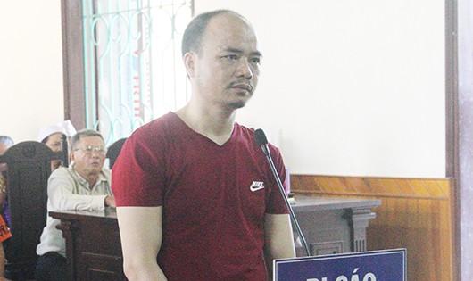 Bị cáo Nguyễn Nam Hải tại phiên tòa