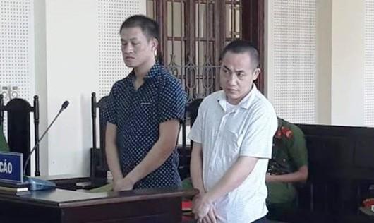 Hai bị cáo người Lào Hạ Rả Tênh và Xểnh Hạ