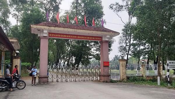 Trại giam Xuân Hà nơi xảy ra vụ việc phạm nhân đâm chết bạn tù