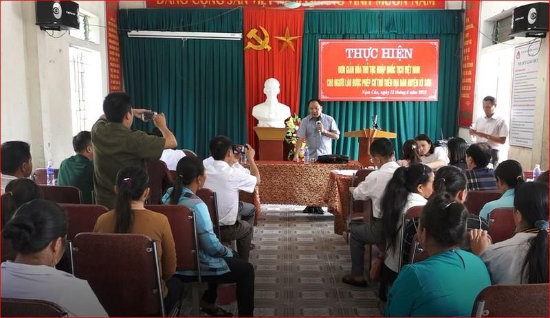 Cục trưởng Cục Hộ tịch, quốc tịch chứng thực - Nguyễn Công Khanh