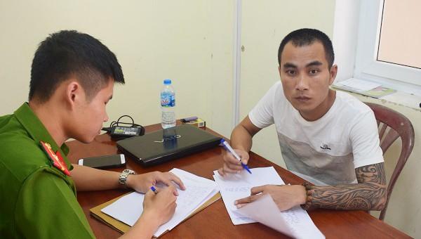 Trần Việt Thắng tại CQĐT.
