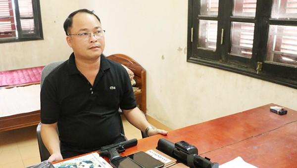 Đối tượng Lê Văn Đỉnh tại CQĐT.