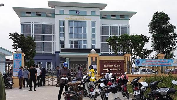 Trụ sở BHXH huyện Quỳnh Lưu