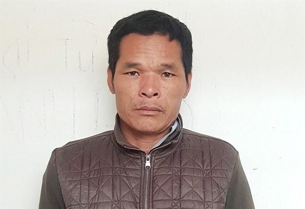 Đối tượng Nguyễn Văn Hạnh bị bắt sau 4 ngày 3 đêm lẩn trốn trong rừng.