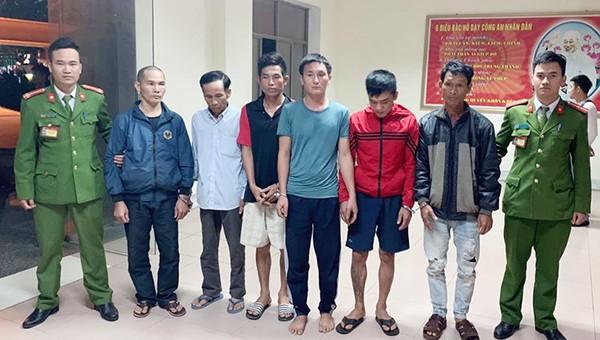 6 đối tượng trốn nã đã được di lý về Nghệ An trước Tết Nguyên đán.